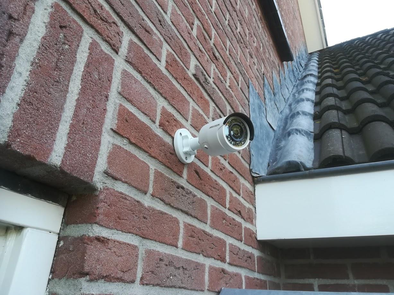 Beveiligingcamera's op afstand